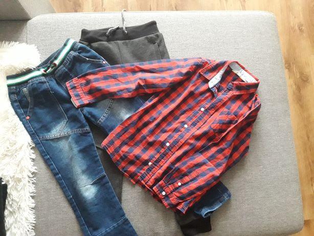 Paka ubrań dla chłopca 122-128