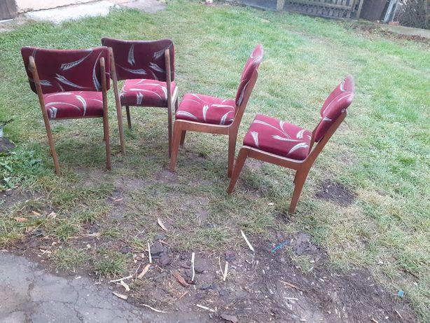 Krzesła prl retro