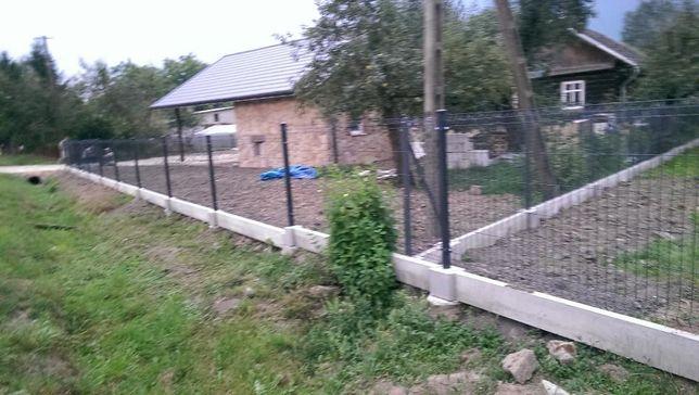 Ogrodzenia Łańcut murki żelbeton bardzo mocne