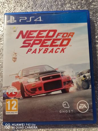 Ps4 Need for speed playback (możliwa zamiana)