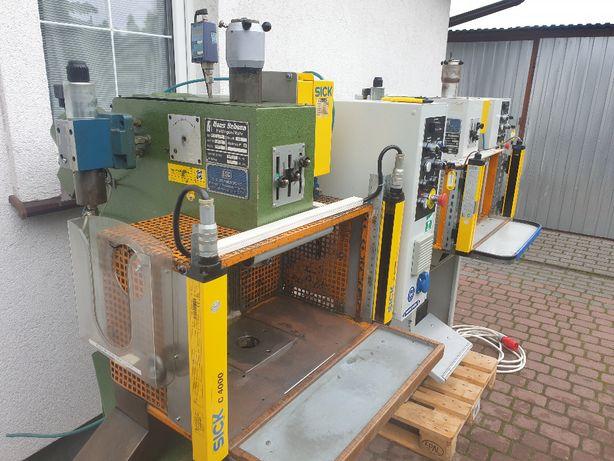 Prasa hydrauliczna Prasa wysięgnikowa Prasa automatyczna Hans Schoen