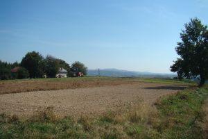 Piękna, widokowa działka z warunkami zabudowy Przybówka okolice Krosna