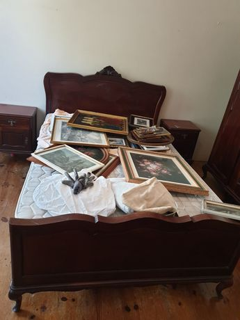 Mobilia quarto casal - estilo antigo