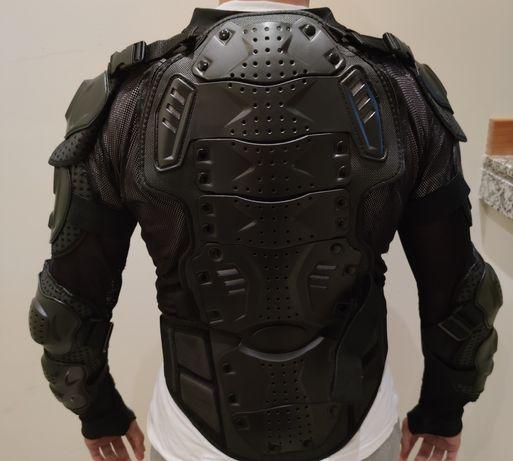 Material de moto colete calças joelheiras luvas botas