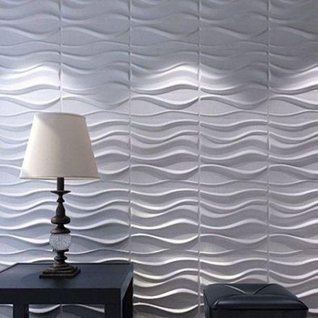 Painel 3D (Wave) 36m²