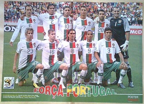 Posters de Futebol : Selecção de Portugal [Equipa | Jogadores]