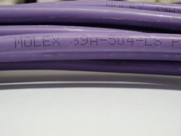 Кабель витая пара Molex 39A-504-LS фиолетовый, легкий б/у.