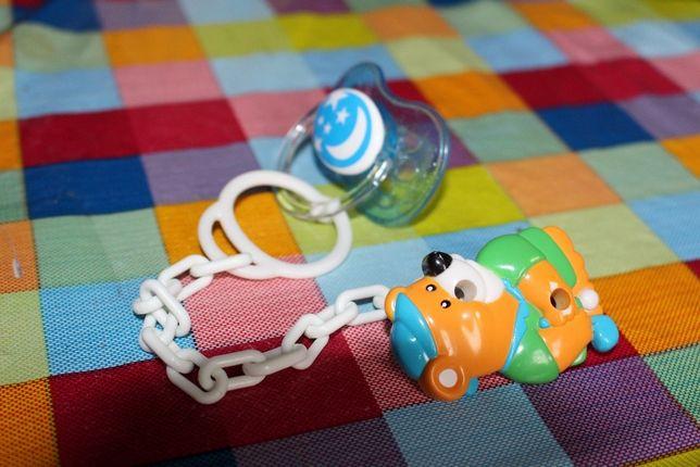 Соска-пустышка+ прищепка Canpol Babies