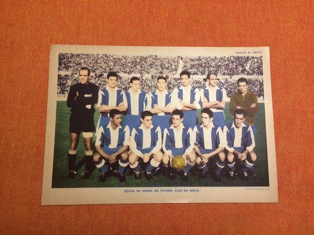 Separata Equipa de Honra do Futebol Club do Porto FCP 1954/55