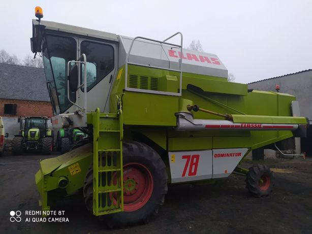 Claas Dominator 78s classic, heder 3,6m