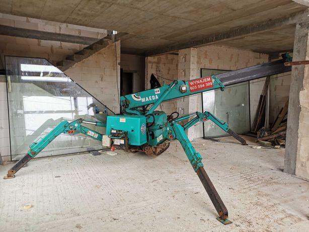 Mini żuraw , mini dźwig Maeda 285 , Bg Lift m250