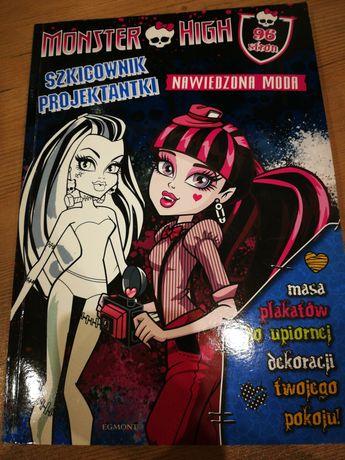 Monster High Szkicownik Projektantki