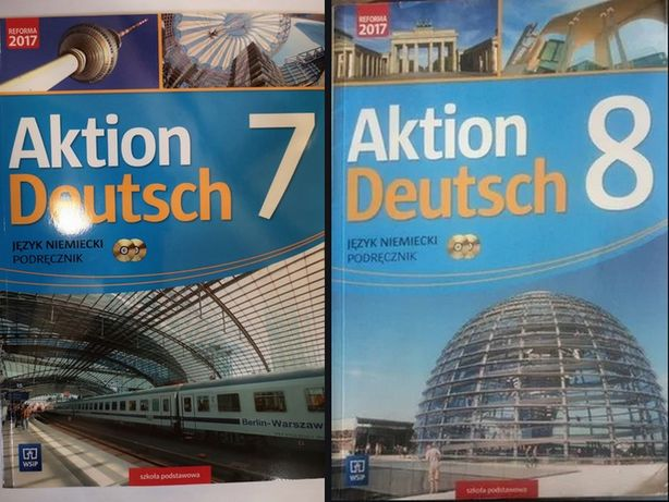 Aktion Deutsch kl 7, 8 książka nauczyciela