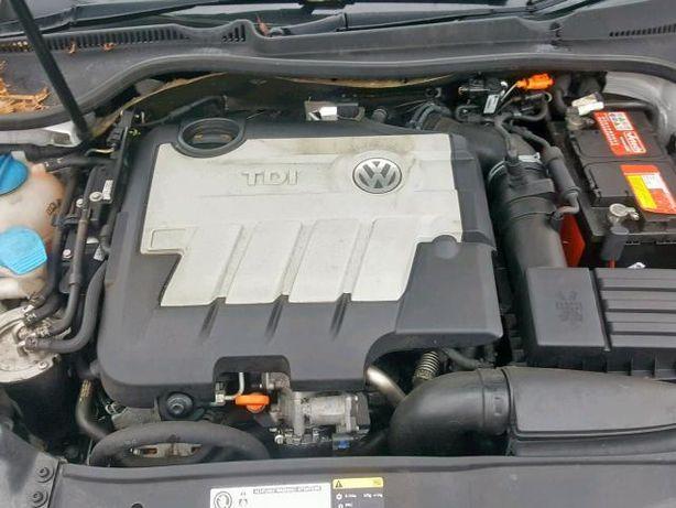 Двигатель Мотор Двигун Volkswagen Skoda CBDB 2.0 TDI