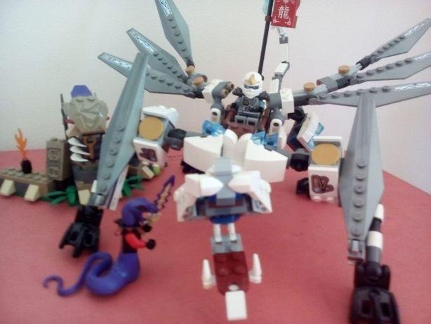 Lego NEXO KNIGHTS 70312 Лего транспорт Ланса конь робот рыцарский байк