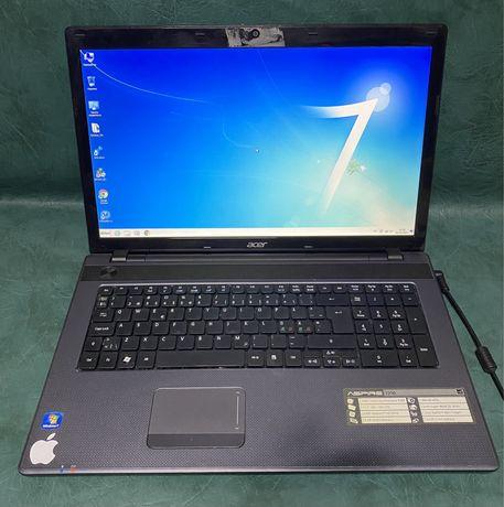 """ноутбук Acer 7250 17"""" / 4Gb RAM/ 500Gb HDD ! Магазин !"""
