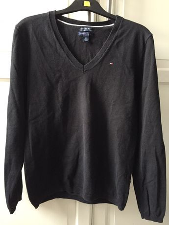Tommy Hilfiger sweterek damski M czarny