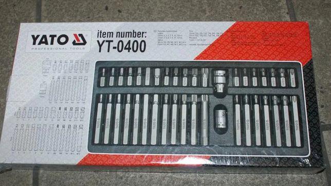 продам набор качественных бит Torx, Spline, Нех YT-0400