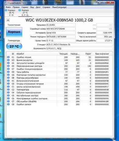 Жёсткий диск WD 1Tb