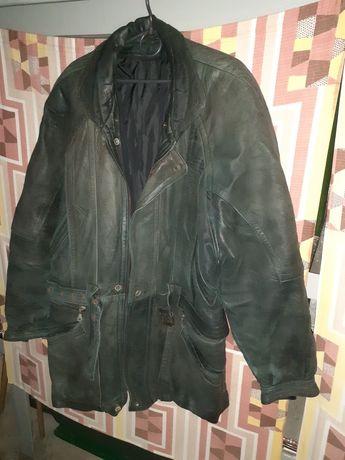 Куртка кожаная мужская.