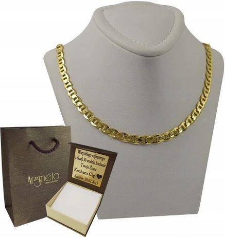 Złoty Łańcuszek GUCCI MARINER / pr. 585 + GRAWER