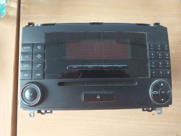 Mercedes W245 W169 - radio MF2750 oryginalne