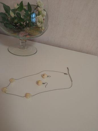 Бижутерия серьги, цепочки