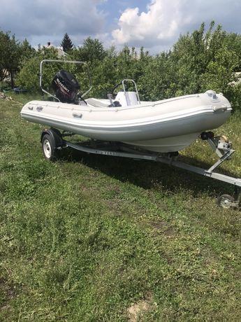 Продам лодку с мотором Kolibri RIB-450 с мотором Suzuki 50