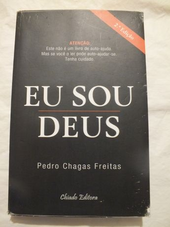Livro- Eu sou Deus - Pedro Chagas Freitas
