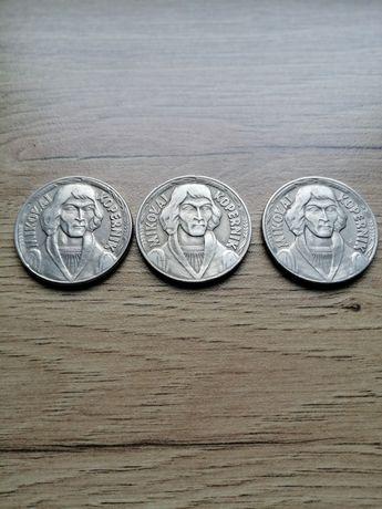 10 zł. M. Kopernik 3 szt. 1967,68,69 r. Ładny stan.