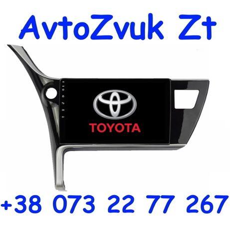 Магнитола COROLLA Toyota GPS DVD USB TV Корола Королла ANDROID 10 DSP