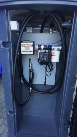 Zbiornik na paliwo dwupłaszczowy 1500L NOLEN MAX