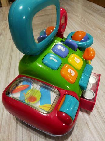Interaktywna kasa sklepowa zabawka na baterie , mnóstwo funkcji.