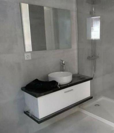 Lavatório móvel WC casa de banho com pio Novo