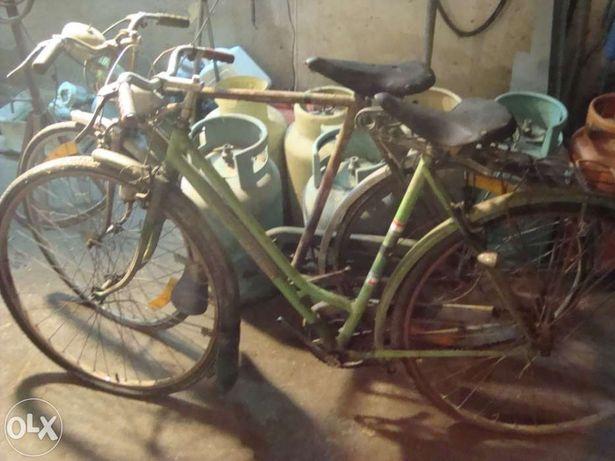 lote de Bicicletas pasteleiras antigas
