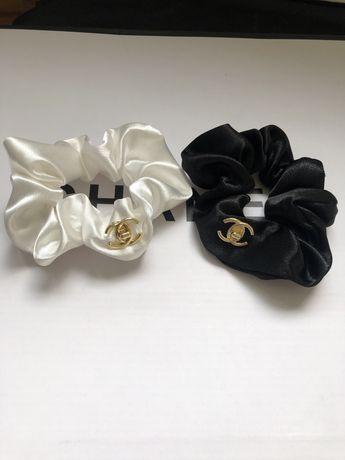 Резинка для волос Шанель Chanel  два цвета