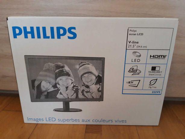 NOVO SELADO na caixa - Monitor PHILIPS 22 polegadas