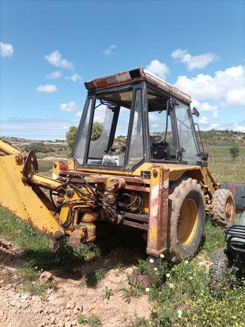 Retro escavadora JCB 3x