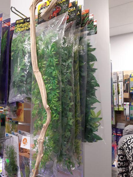 Sztuczna roślina do terrarium