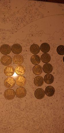 10 копеек СССР (1961,1962,1970,1971,1973,1974,1975,1976,1977,1978 и др