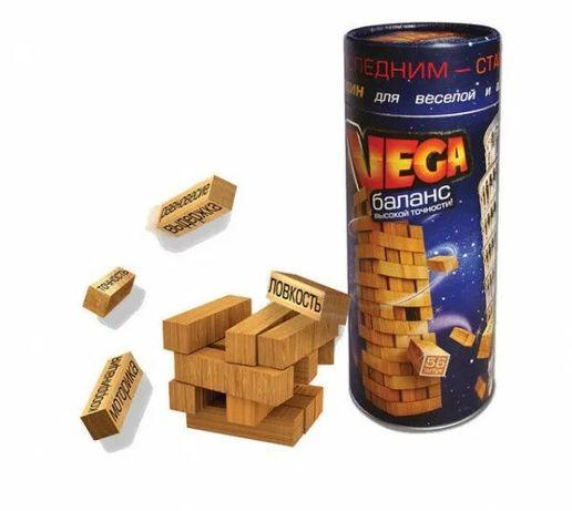 Игра настольная Башня Дженга Vega Jenga Джанга Вега