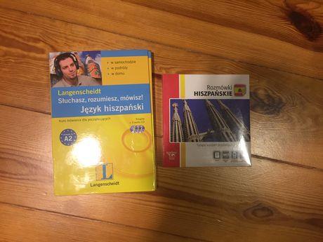 Rozmówki hiszpańskie i słowniki polsko-hiszpańskie