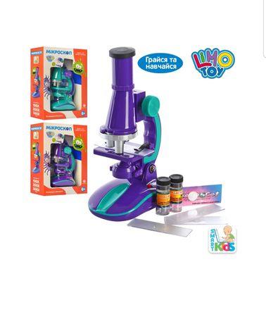 Микроскоп детский Limo Toy SK 0006 с подсветкой и аксесуарами