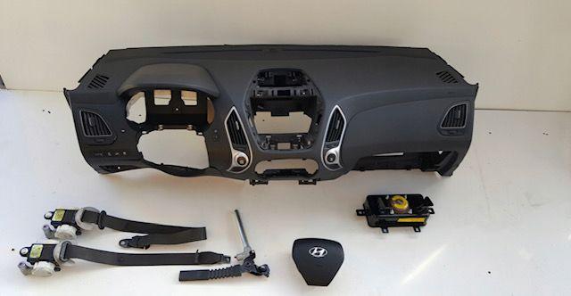 Hyundai ix35 cintos airbags tablier