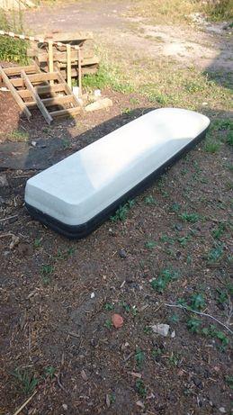 Box dachowy bagaznik na dach trumienka mercedes benz