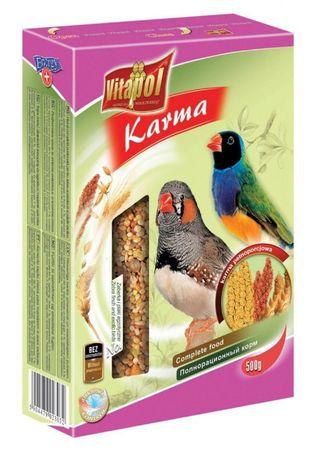 Vitapol VITAPOL Pokarm dla zeberek i ptaków egzotycznych 500g - Sanok