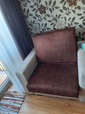 Fotel rozkładany do spania!