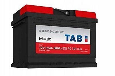 Akumulator TAB MAGIC 60AH 600A 2 lata gwarancji