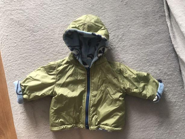 Zimowa kurtka chłopięca r 74
