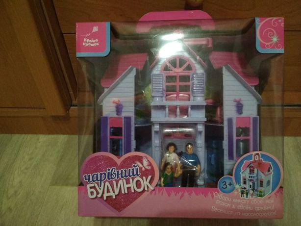 Детский игрушечный домик новый